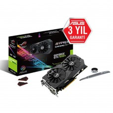 ASUS GeForce GTX1050 Ti STRIX GAMING OC GDDR5 4GB 128Bit DX12 Nvidia Ekran Kartı