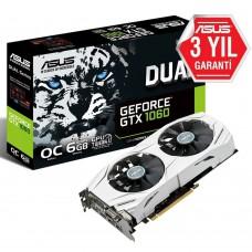 ASUS GeForce GTX1060 DUAL OC GDDR5 6GB 192Bit NVIDIA DX12 Ekran Kartı
