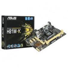 ASUS H81M-K DDR3 SES-LAN-VGA USB3,0 1150p