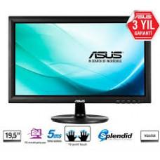 19.5 ASUS VT207N 5MS VGA DVI DOKUNMATİK SİYAH